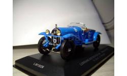 1/43 IXO Lorraine-Dietrich B3-6 Le Mans Winner 1926 №6 редкий