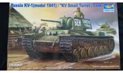 1:35 Танк КВ-1(мод.1941г.) Trumpeter