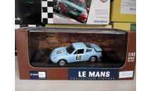 Simca Abarth 1300 Le Mans 1962, масштабная модель, IXO Le-Mans (серии LM, LMM, LMC, GTM), scale43
