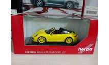 Porsche 911 Targa 4 GTS, масштабная модель, Herpa, scale43