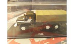 Миасский грузовик 4322 бортовой с тентом, SSM1221, масштабная модель, Start Scale Models (SSM), 1:43, 1/43