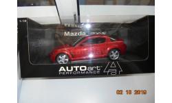 MAZDA RX-8 1/18 AUTOART 1:18
