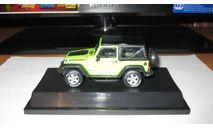 Jeep Wrangler Mountain Edition 2012, масштабная модель, Greenlight, scale43