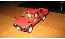 Nissan-Datsun King Cab 4WD, редкая масштабная модель, TOMICA, scale43