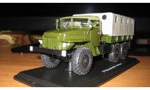 УРАЛ-375 с тентом 1963г., масштабная модель, Автоистория (АИСТ), 1:43, 1/43