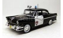 Ford Fairlane Town Sedan (Полиция Детройта)            ПММ №1, журнальная серия Полицейские машины мира (DeAgostini), Полицейские машины мира, Deagostini, 1:43, 1/43
