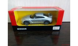 NISSAN GT - R (SILVER), масштабная модель, scale43, Rastar