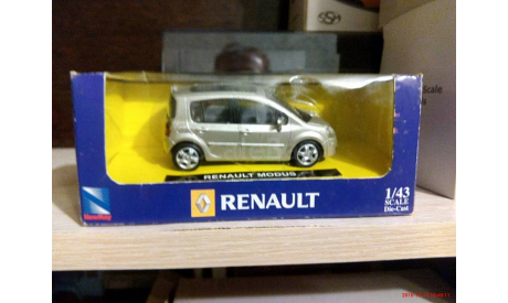 RENAULT MODUS   NewRay 1/43, масштабная модель, scale43, New-Ray
