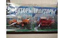 НАБОР: ТРАКТОРА  Т -150К + ДТ -75К(№ 92 и №83), журнальная серия Тракторы. История, люди, машины (Hachette), scale43