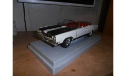 1969 Plymouth Gtx Convertible - Ertl Spinnaker White #e7249, масштабная модель, scale18