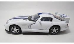 Dodge Viper GTSR, масштабная модель, Kinsmart