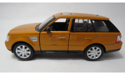 Range Rover Sport, масштабная модель, Kinsmart