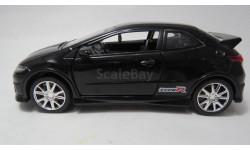 Honda Civic Type R, масштабная модель, Uni Fortune