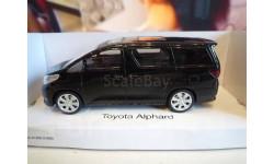 М 1:43. Модель Toyota Alphard черный. RaStar, масштабная модель, 1/43