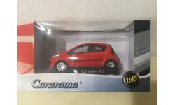 М 1:43. Citroen C1.  Cararama., масштабная модель, Citroën, Bauer/Cararama/Hongwell, 1/43