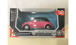 М 1:43. VW Beetle. Cararama., масштабная модель, Volkswagen, Bauer/Cararama/Hongwell, 1/43