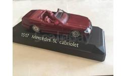 М 1:43. Mercedes SL cabriolet. Solido. Франция., масштабная модель, Mercedes-Benz, scale43