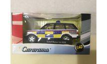 "М 1:43. Land Rover 4,6 HSE. ""Police"".  Cararama.  Карарама., масштабная модель, Bauer/Cararama/Hongwell, 1/43"