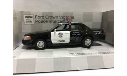 Ford Crown Victoria Interceptor, масштабная модель, Kinsmart, scale0