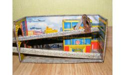Заводная игрушка гараж жесть ЛМО 'Спутник' Ленинград, масштабные модели (другое)