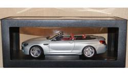 BMW M6 Convertible Silverstone II silver, масштабная модель, Paragon Models, 1:18, 1/18