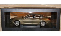BMW 650i GT 6-Series Gran Coupe bronze metallic, масштабная модель, Paragon Models, 1:18, 1/18