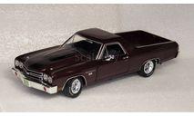 Chevy El Camino 1970, масштабная модель, Chevrolet, ERTL (Auto World), 1:18, 1/18