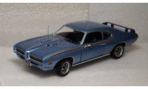 Pontiac GTO Judge 1969, масштабная модель, ERTL (Auto World), scale18
