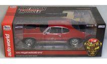 Pontiac GTO 1968 Royal Bobcat, масштабная модель, ERTL (Auto World), scale18
