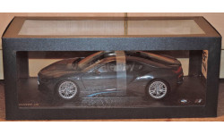 BMW i8 (i12) Coupe Sophisto Grey Dealer Edition, масштабная модель, Paragon Models, 1:18, 1/18