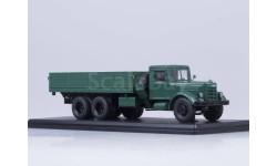 SSM в боксе ЯАЗ-210 бортовой, тёмно-зелёный, металл. рама