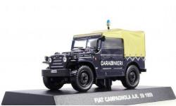 Fiat Campagnola AR59, журнальная серия Полицейские машины мира (DeAgostini), 1:43, 1/43