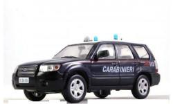 Subaru Forester, журнальная серия Полицейские машины мира (DeAgostini), 1:43, 1/43
