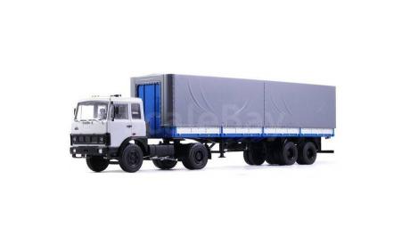 МАЗ-5432 + МАЗ-93971, масштабная модель, Автоистория (АИСТ), 1:43, 1/43