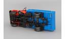 ГАЗ-3309, масштабная модель, Автолегенды СССР журнал от DeAgostini, 1:43, 1/43