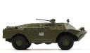 БРДМ-2У, масштабная модель, DeAgostini, scale43