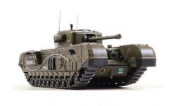 Churchill Mk.VII, масштабные модели бронетехники, DeAgostini, 1:43, 1/43