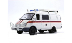 ГАЗ-2705 МЧС, масштабная модель, DeAgostini, 1:43, 1/43