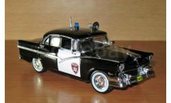 Ford Fairlane Town Sedan 1956, журнальная серия Полицейские машины мира (DeAgostini), 1:43, 1/43