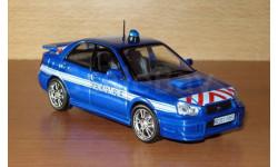 Subaru Impreza, журнальная серия Полицейские машины мира (DeAgostini), 1:43, 1/43