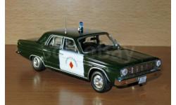 Dodge Dart, журнальная серия Полицейские машины мира (DeAgostini), scale43