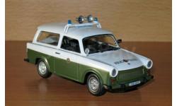 Trabant Kombi, журнальная серия Полицейские машины мира (DeAgostini), scale43