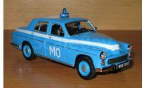 Warszawa 223, журнальная серия Полицейские машины мира (DeAgostini), scale43