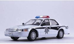 Ford Crown Victoria, журнальная серия Полицейские машины мира (DeAgostini), scale43