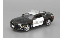 Chevrolet Camaro SS, журнальная серия Полицейские машины мира (DeAgostini), 1:43, 1/43