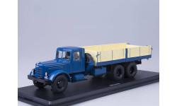 SSM в боксе ЯАЗ-210 бортовой, синий, металл. рама