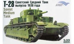T-28 Soviet Medium Tank (Mod.1938)
