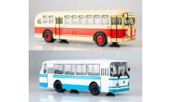 2 модели ЗиС-154 + ЛАЗ 695Н, масштабная модель, MODIMIO, scale43