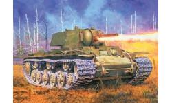 КВ-8 Тяжелый огнеметный танк 1942 г.