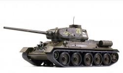 Т-34-85, масштабные модели бронетехники, DeAgostini, 1:43, 1/43